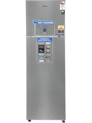 Haier 276 L Frost Free Double Door 3 Star Refrigerator HEF-27TSS