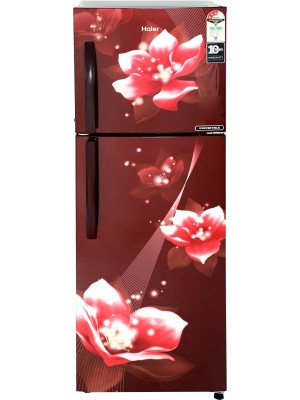 Haier HEF-25TRF 278 L Frost Free Double Door 3 Star Refrigerator