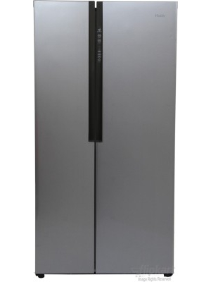 Haier 565 L Frost Free Side by Side Refrigerator(HRF-618SS, Grey, 2016)