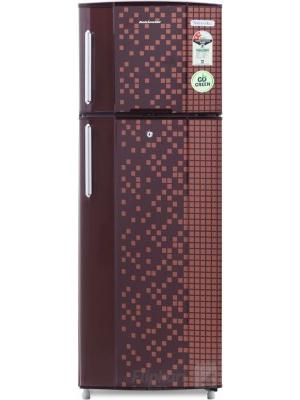 Kelvinator 235 L Frost Free Double Door Refrigerator(KA242PMX, Maroon Pixel, 2016)