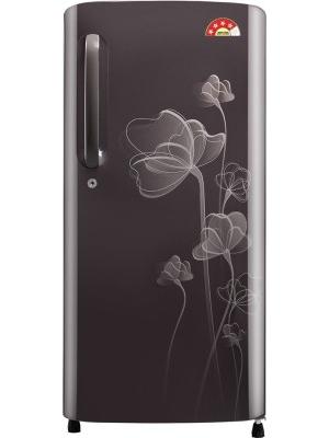 LG 190 L Direct Cool Single Door Refrigerator(GL-B201AGHP, Graphite Heart, 2016)