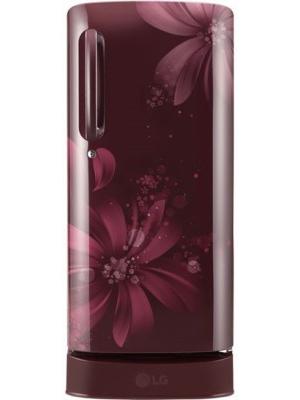 LG 190 L Direct Cool Single Door Refrigerator(GL-D201ASAW, Scarlet Aster, 2017)