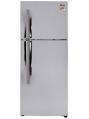 LG 260 L Frost Free Double Door Refrigerator(GL-I292RPZL, Shiny Steel, 2016)