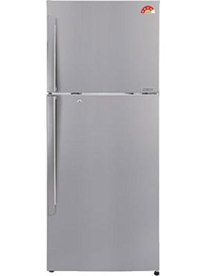 LG 335 L Frost Free Double Door Refrigerator(GL-U372JPZL, Shiny Steel, 2016)