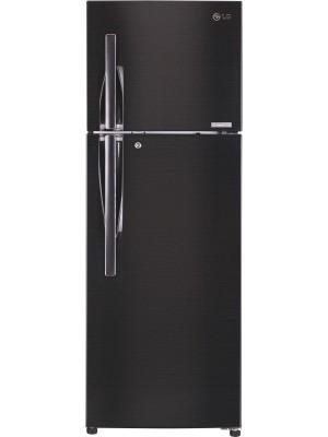LG 360 L Frost Free Double Door 4 Star Refrigerator GL-T402JBLN