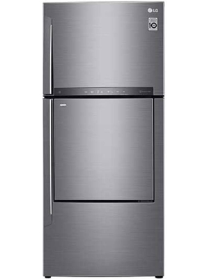LG 444 L Frost Free Triple Door Refrigerator (GC-D432HLHU)