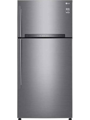 LG 516 L Frost Free Double Door Refrigerator (GN-H602HLHU)
