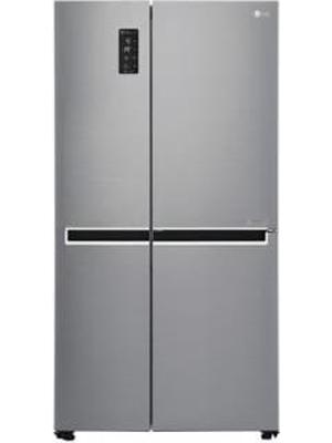 LG 687 L Side By Side Refrigerator GC-B247SVUV