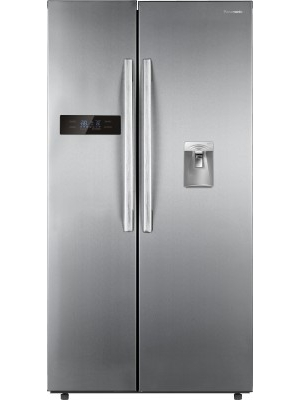 Panasonic 584 L Frost Free Side by Side Refrigerator(NR-BS60DSX1, Stainless Steel, 2016)