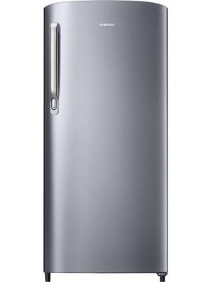 SAMSUNG 192 L Direct Cool Single Door Refrigerator(RR19M2412S8/NL, Elegant Inox, 2017)