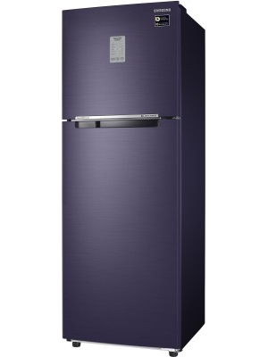 SAMSUNG 275 L Frost Free Double Door Refrigerator(RT30M3744UT/HL, Pebble Blue, 2017)