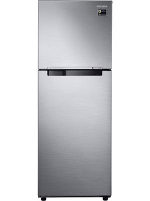 Samsung 321 L Frost Free Double Door Refrigerator (Elegant Inox, RT34M3053S8/HL)