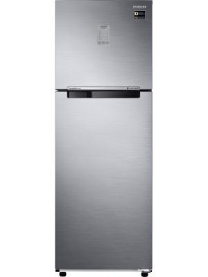 SAMSUNG 345 L Frost Free Double Door Refrigerator(RT37M3743S8, Elegant Inox, 2017)