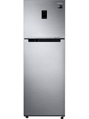 Samsung 345 L Frost Free Double Door Top Mount 3 Star Refrigerator RT37M5538SL/HL