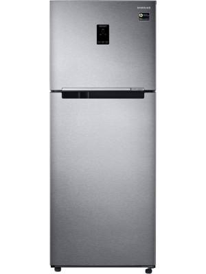 Samsung 394 L Frost Free Double Door 4 Star Refrigerator RT39M553ESL/TL