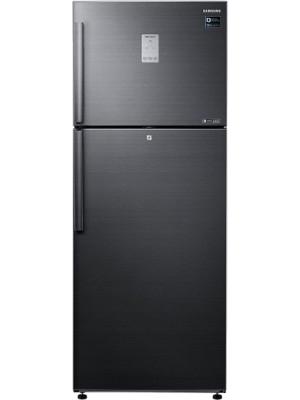 SAMSUNG 478 L Frost Free Double Door Refrigerator(RT49K6338BS/TL, Black Inox)