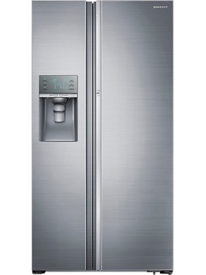 SAMSUNG 838 L Frost Free Side by Side Refrigerator(RH77H90507H/TL, Solid Metal)