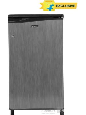 Sansui 80 L Direct Cool Single Door Refrigerator(SC090LSH - FDW/SC091P, Silver Hairline, 2016)