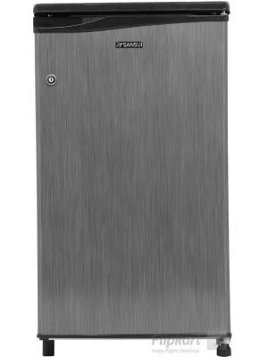 Sansui 80 L Direct Cool Single Door Refrigerator(SC091PSH-HDW, Silver Hairline, 2017)