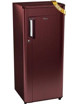 Whirlpool 215 L Direct Cool Single Door Refrigerator(230 IMFRESH PRM 3S, Wine Titanium, 2017)
