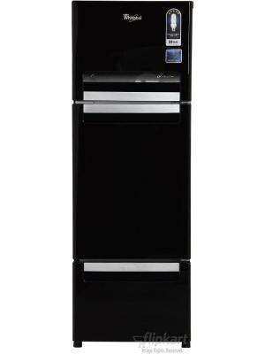 Whirlpool 240 L Frost Free Triple Door Refrigerator(FP 263D PROTTON ROY, Mirror Black, 2016)
