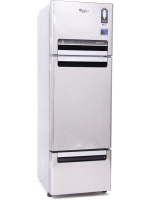 Whirlpool 260 L Frost Free Triple Door Refrigerator(FP 283D PROTTON ROY, Steel Knight, 2016)