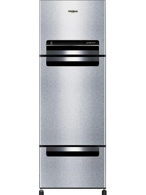 Whirlpool 260 L Frost Free Triple Door Refrigerator (Mirror White, FP283D PROTTON ROY)