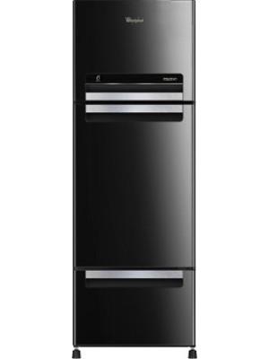 Whirlpool 330 L Frost Free Triple Door Refrigerator(FP 343D ROYAL PROTTON, Mirror Black)