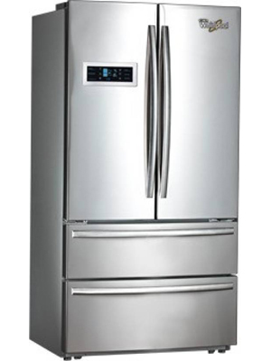 Whirlpool 570 L Frost Free French Door Bottom Mount Refrigerator (702 FDBM)