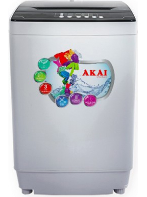 Akai 7.5 Kg Semi Automatic Top Load Washing Machine (AKSW-7501RD/7501BD)
