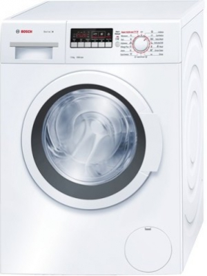 Bosch 7 kg Fully Automatic Front Load Washing Machine White(wak20268in)