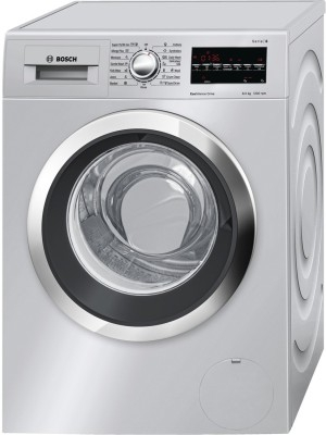 Bosch 8 kg Fully Automatic Front Load Washer Only Silver(WAT 24 468 IN)