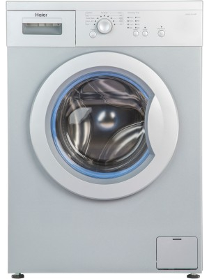 Haier 6 kg Fully Automatic Front Load Washing Machine White(HW60-1010AW)