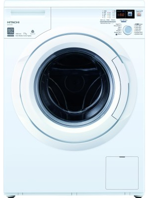 Hitachi 7.5 kg Fully Automatic Front Load Washing Machine(BD-W75TSP)