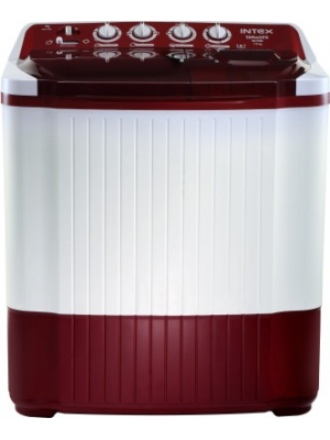 Intex 7.2 kg Semi Automatic Top Load Washing Machine Red(WM SA72DR-CVP)