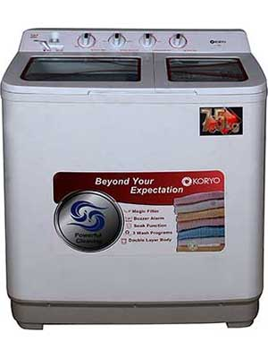 Koryo KWM7517SA 7.5 Kg Semi Automatic Top Load Washing Machine