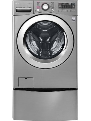 LG 18/10 kg Fully Automatic Twin Load Washer with Dryer (F0K2CHK2T2_F70E1UDNK1)