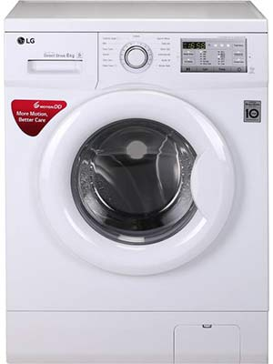 LG 6 kg Fully Automatic Front Load Washer Only FH0FANDNL02