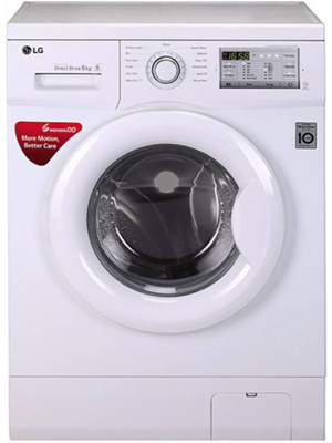 LG 6 kg Fully Automatic Front Load Washing Machine White (FH2G7NDNL12)