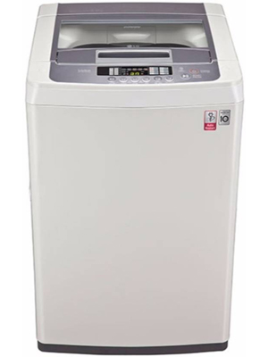LG 6.2 kg Fully Automatic Top Load Washing Machine White, Silver (T7269NDDL)