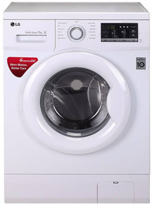 LG 7 kg Fully Automatic Front Load Washing Machine (FH0G7QDNL02)