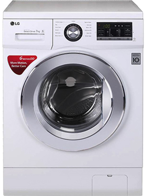 LG 7 kg Fully Automatic Front Load Washing Machine (FH2G6HDNL22)