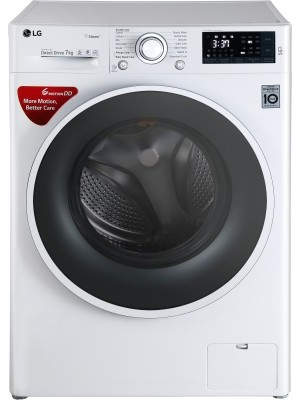 LG FHT1207SWW 7 kg Fully Automatic Front Load Washing Machine