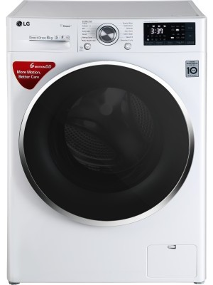 LG FHT1408SWW 8.0 kg Fully Automatic Front Load Washing Machine