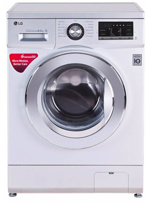 LG 8 kg Fully Automatic Front Load Washing Machine (FH4G6TDNL42)