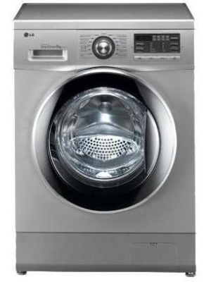LG 8 kg Fully Automatic Front Load Washing Machine Silver(F1496TDP24)