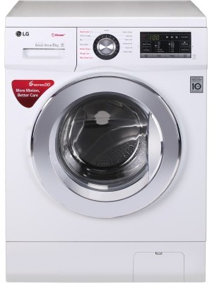 LG FH4G6TDYL22 8 kg Fully Automatic Front Load Washing Machine