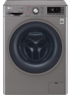 LG 8 Kg Fully Automatic Front Loading Washing Machine (F4J7THP2S)