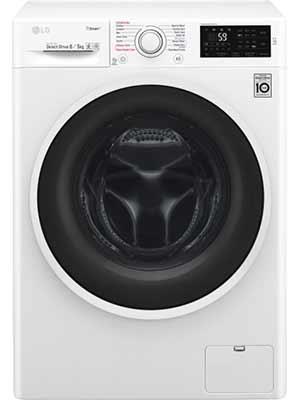 LG F4J6TGPOW 8 kg Fully Automatic Front Load Washing Machine