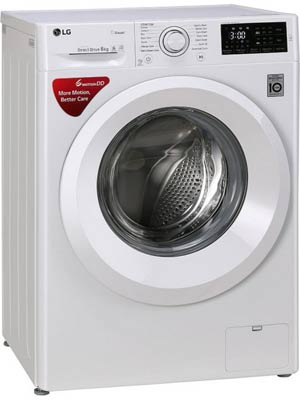 LG FHT1006HNW 6 kg Fully Automatic Front Load Washing Machine